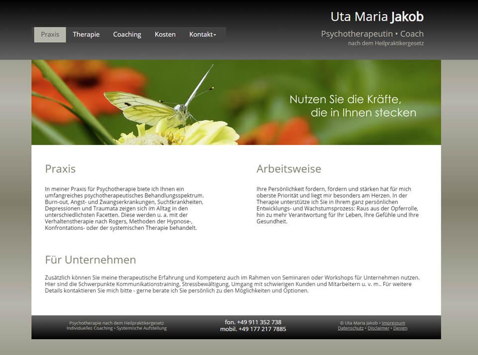 Homepagetexte für psychotherapeutische Praxis