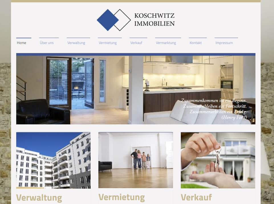 Texte für Website Koschwitz Immobilien