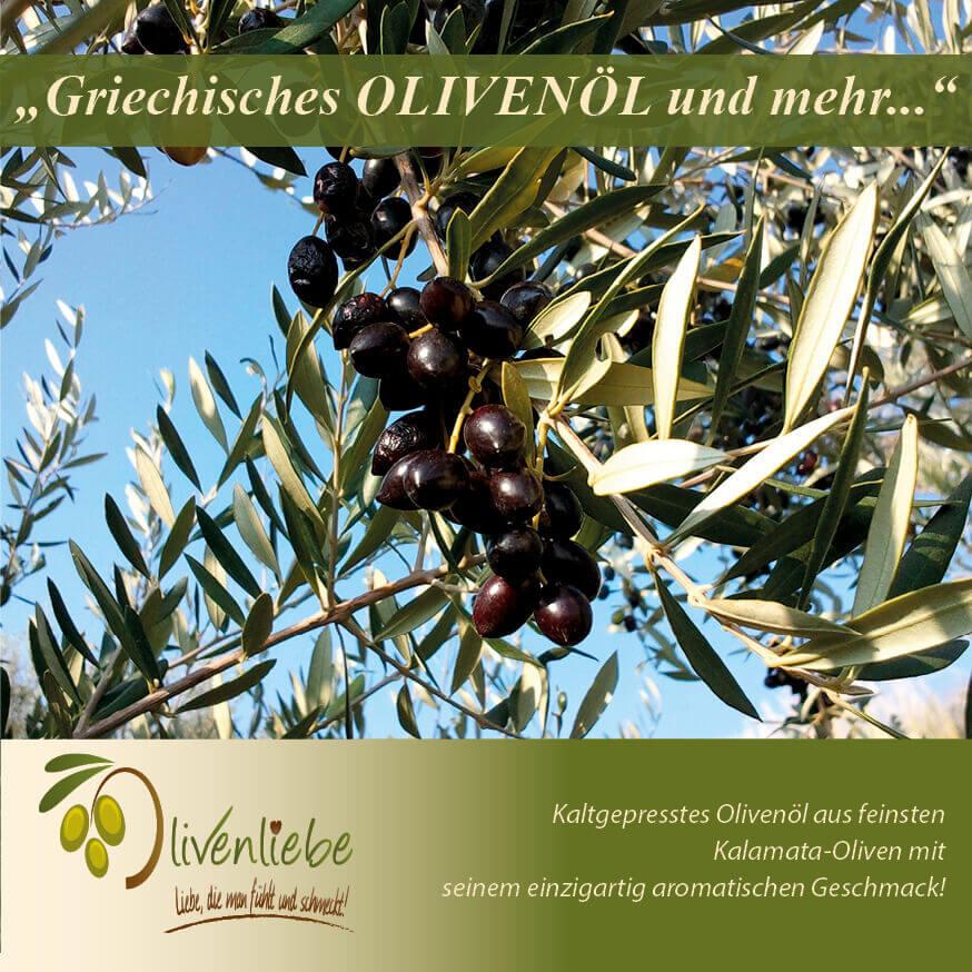 Texterin schreibt für Olivenliebe Flyer